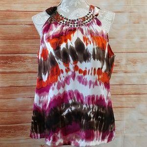 Apt. 9 sleeveless top. Size L